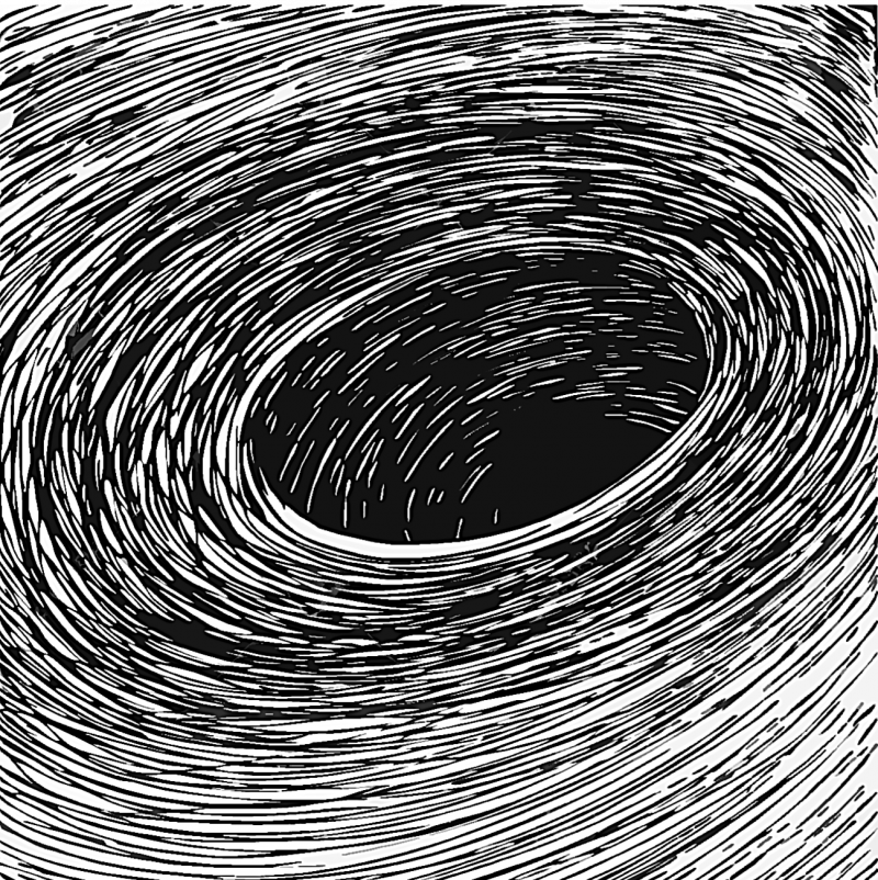 Spiral Black Hole
